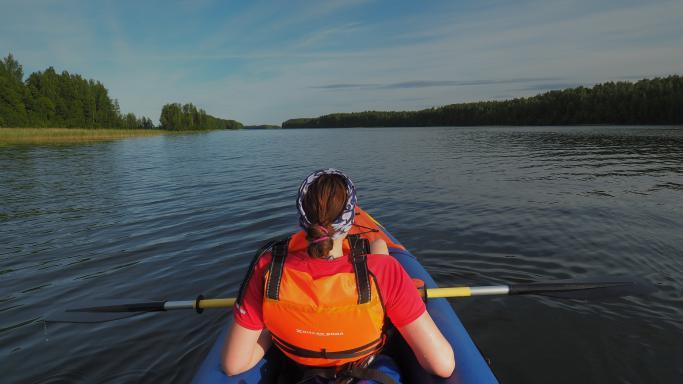 Водный маршрут по озеру Кончезеро