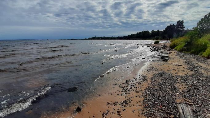 Пеший маршрут по песчаным пляжам Онеги - Пески