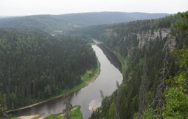 Сплав по реке Усьве